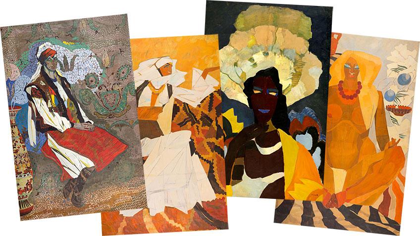 «Многогранность женщины» - выставка фоторепродукций картин Валерия Гегамяна