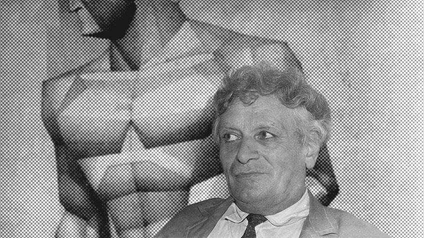 Валерий Гегамян - портрет художника - коллаж
