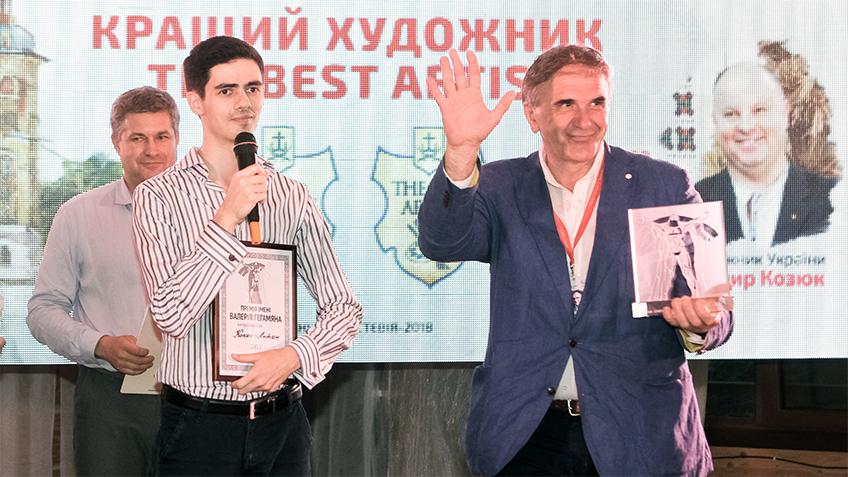 Антон Ковач - лауреат премии 2018