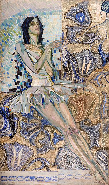 Фотография картины Валерия Гегамяна #030 «Балерина в светлом»