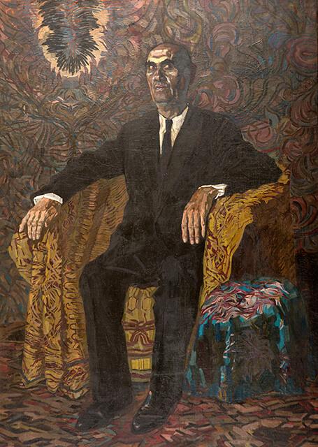 Фотография картины Валерия Гегамяна #054 «Портрет коллекционера»