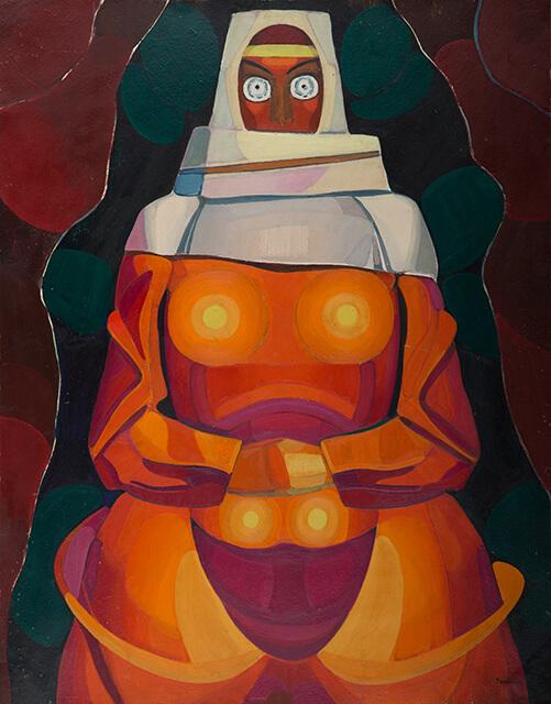 Фотография картины Валерия Гегамяна #093 «Армянская невеста IV»