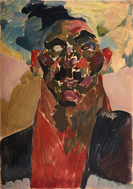 Фотография картины Валерия Гегамяна #121 «Голова в папахе»