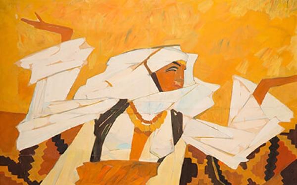 Photo of Valery Geghamyan`s painting #023 «Armenian Dancer»