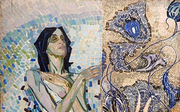 Фотографія картини Валерія Гегамяна #030 «Балерина в світлому»