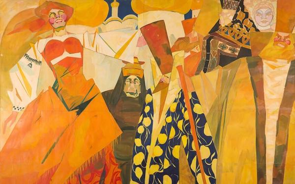 Photo of Valery Geghamyan`s painting #043 «Bride-Show II»