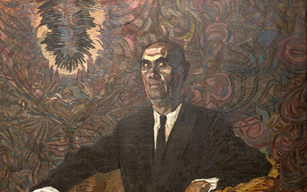 Фотографія картини Валерія Гегамяна #054 «Портрет колекціонера»
