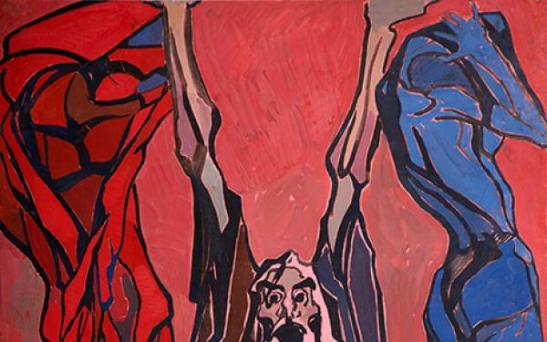 Photo of Valery Geghamyan`s painting #125 «Warlock»