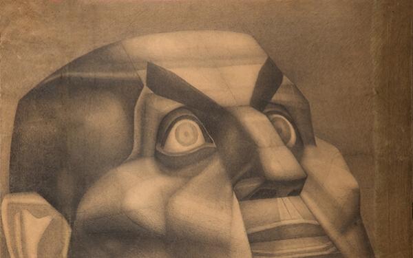 Рисунок Валерия Гегамяна #185 «Образ I» фото