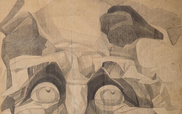Drawing of Valery Geghamyan #276 «M. Vrubel. 'Pan' II» photo
