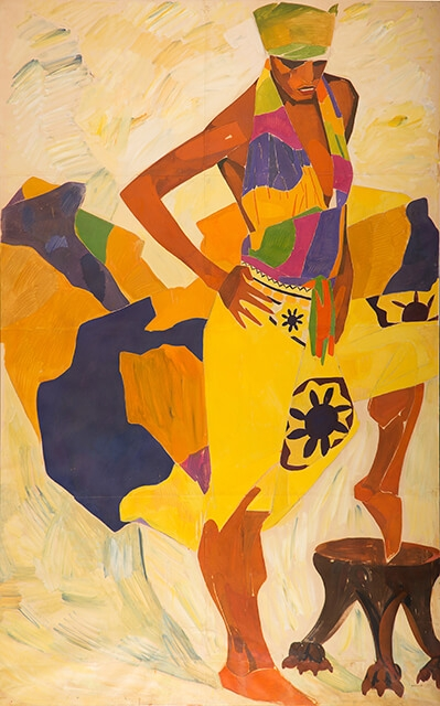 Photo of Valery Geghamyan`s painting #006 «Dancer»