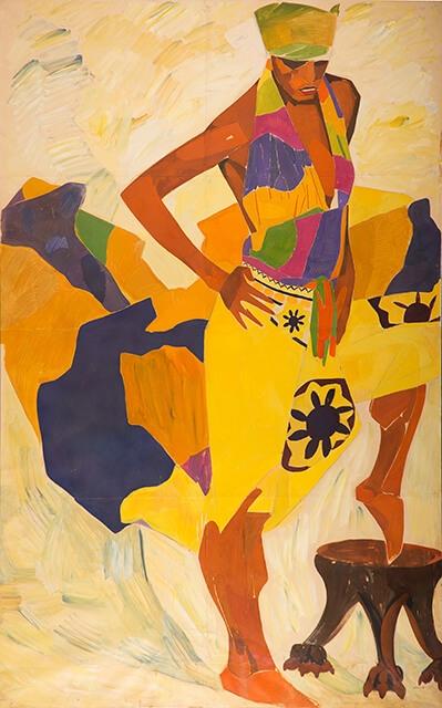 Фотографія картини Валерія Гегамяна #006 «Танцівниця»