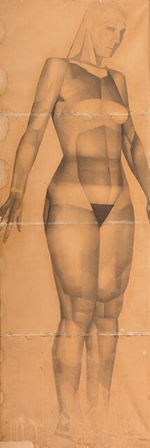 Рисунок Валерия Гегамяна #016 полиптих «Грация» III фото