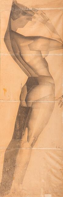 Рисунок Валерия Гегамяна #017 полиптих «Грация» II фото