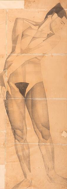 Рисунок Валерия Гегамяна #019 полиптих «Грация» I фото