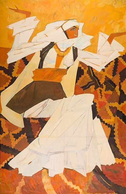 Photo of Valery Geghamyan`s painting #023 «Armenian Dancer»