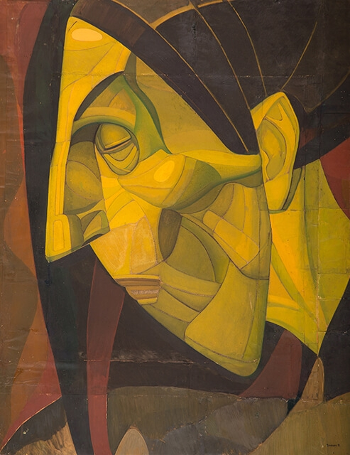 Photo of Valery Geghamyan`s painting #094 «Bride's Mother IV»