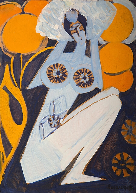Photo of Valery Geghamyan`s painting #174 «A Woman»