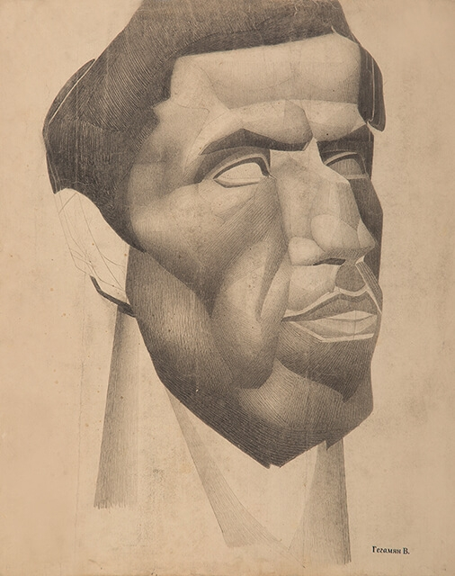Drawing of Valery Geghamyan #271 «Portrait of a Young Caucasian» photo