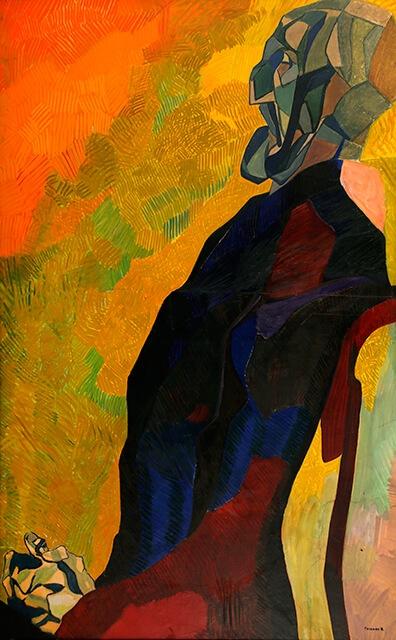 Фотографія картини Валерія Гегамяна #342 «П. Корін «Портрет М. Холмогорова»