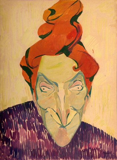 Photo of Valery Geghamyan`s painting #108 «Red-Headed Lady»
