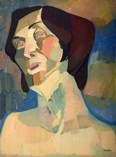 Photo of Valery Geghamyan`s painting #112 «Portrait of Girlfriend»