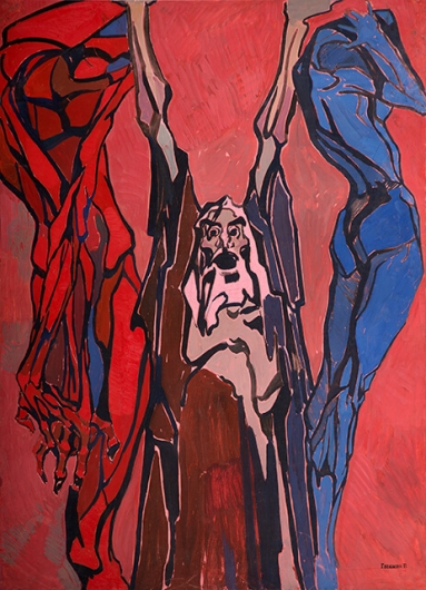 Photo of Valery Geghamyan`s painting #125 «Warlock»