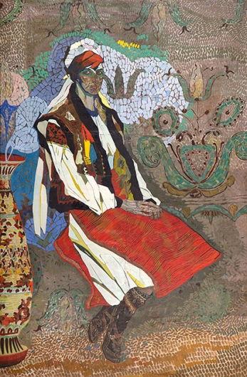 Photo of Valery Geghamyan`s painting #316 «A Ukrainian Woman»